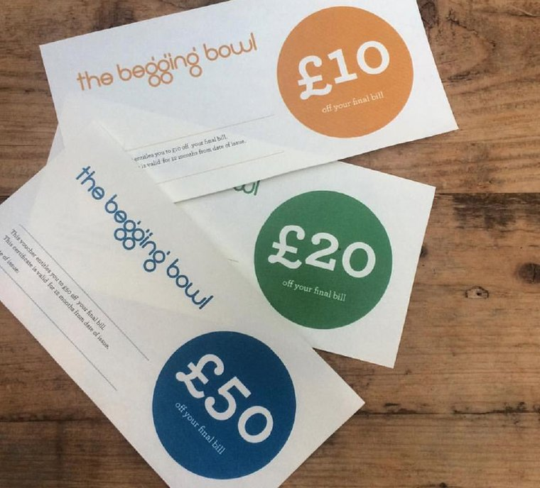 The Begging Bowl Vouchers