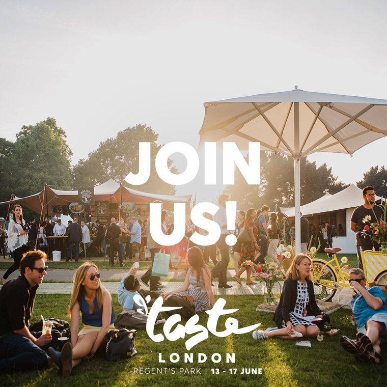 Join Us At Taste of London on 17th June!
